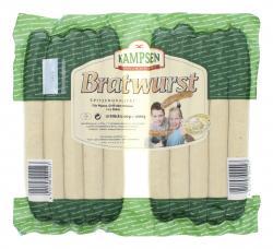 Kampsen Bratwurst  (2 x 500 g) - 4010198002423