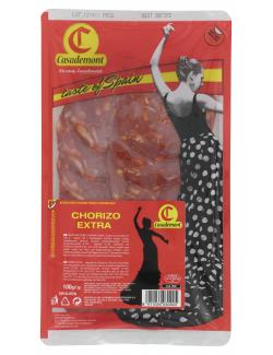 Casademont Chorizo Extra Paprika Salami  (100 g) - 8411034030925