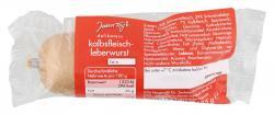 Jeden Tag Kalbfleisch-Leberwurst fein  (125 g) - 4250780300395