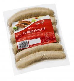 Jeden Tag Delikatess Rostbratwurst  (6 x 90 g) - 4250780301613