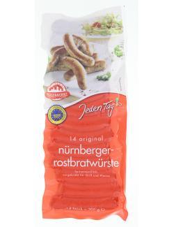 Jeden Tag Original N�rnberger Rostbratw�rste  (300 g) - 4102490060338
