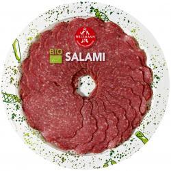 Wiltmann Salami fein Bio  (80 g) - 4001956215339