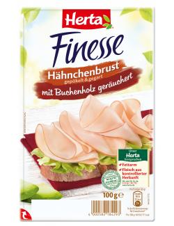 Herta Finesse H�hnchenbrust ger�uchert  (100 g) - 4000582184293