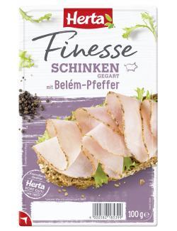 Herta Finesse Schinken mit Bel�m-Pfeffer  (100 g) - 4000582185399