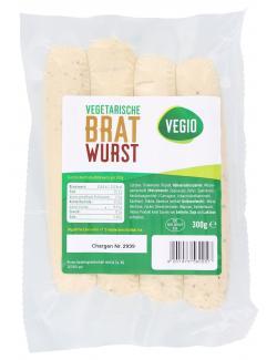 Vegio Vegetarische Bratwurst  (300 g) - 4001473560257