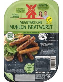 R�genwalder M�hle Vegetarische M�hlen Bratwurst  (180 g) - 4000405005286