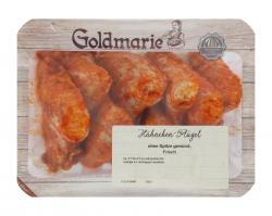 Goldmarie H�hnchen-Fl�gel ohne Spitze gew�rzt  - 4046305171874