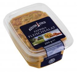 Küstengold Paprika Fleischsalat  (200 g) - 4250426215830