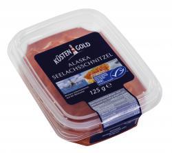 K�stengold Alaska Seelachsschnitzel  (125 g) - 4250426215816