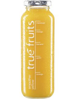 True fruits Smoothie yellow  (250 ml) - 4260122390014