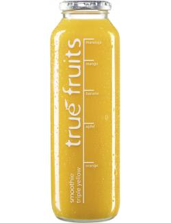 True fruits Smoothie triple yellow  (750 ml) - 4260122390373