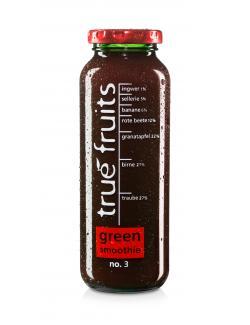 True fruits Smoothie green  (250 ml) - 4260122391059
