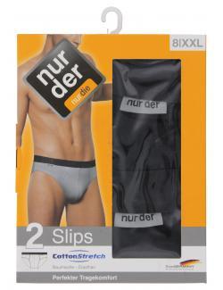 nur der Slip Cotton Stretch dynamic Gr. 8 XXL schwarz  (1 St.) - 4003015003420
