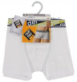 nur der Boxer Cotton Stretch dynamic Gr. 8 XXL weiß  (1 St.) - 4003015014761