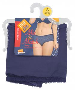 nur die Mix&Match Panty Gr. 36-38 S marine  (1 St.) - 4003015581430
