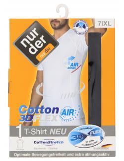 nur der T-Shirt Cotton 3D-Flex Air dynamic Gr. 7 XL schwarz  (1 St.) - 4003015646016