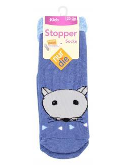 nur die Stopper Socke Gr. 23-26  (1 St.) - 4003015957754