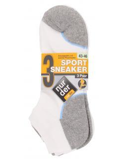 nur der Sport Sneaker Gr. 43-46 wei�  (1 St.) - 4003015018639