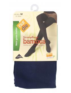 nur die Bambus Strumpfhose Gr. 40-44 M dunkelblau  (1 St.) - 4003015575866