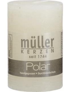 Müller-Kerzen Polar Stumpenkerze vanille  (1 St.) - 4009078142212