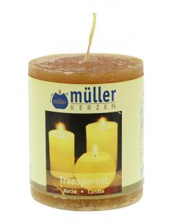 Müller-Kerzen Stumpenkerze mandarin  - 4009078632010