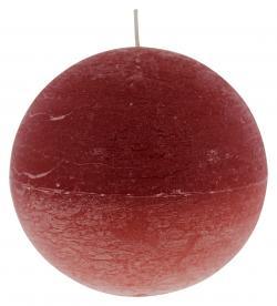 M�ller-Kerzen Kugelkerze rot  (1 St.) - 4009078257541