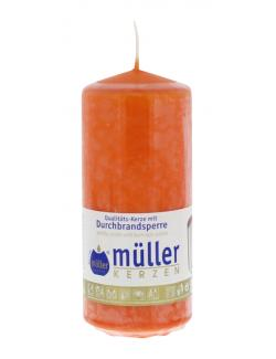 M�ller-Kerzen Stumpenkerze mandarin  (1 St.) - 4009078252959