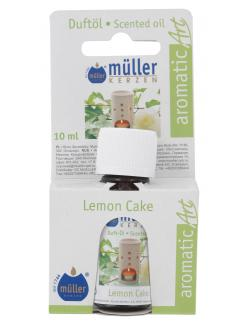 Müller-Kerzen Duftöl aromaticArt Lemon Cake  (10 ml) - 4009078250863