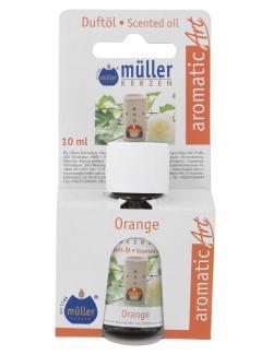 M�ller-Kerzen Duft�l aromaticArt Orange  (10 ml) - 4009078250399