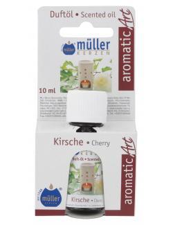 M�ller-Kerzen Duft�l aromaticArt Kirsche  (10 ml) - 4009078250504