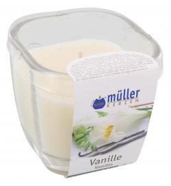 M�ller-Kerzen Duft-Kerzenglas aromaticArt vanilla  (1 St.) - 4009078250139