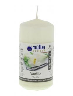 M�ller-Kerzen Duft-Stumpenkerze aromaticArt Vanille  (1 St.) - 4009078249959
