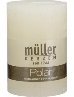 M�ller-Kerzen Polar Stumpenkerze vanille  (1 St.) - 4009078631884