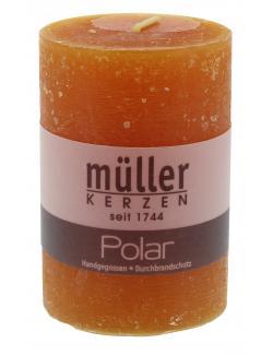 M�ller-Kerzen Polar Stumpenkerze mandarin  (1 St.) - 4009078631907