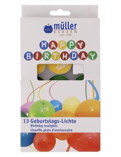 Müller-Kerzen 13 Geburtstags-Lichter  (1 St.) - 4009078358170