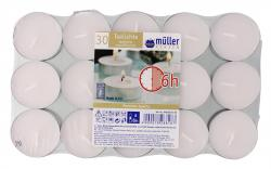 M�ller-Kerzen Teelichte  (30 St.) - 4009078288187