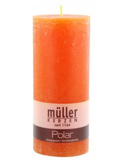 M�ller-Kerzen Polar Stumpenkerze mandarin  (1 St.) - 4009078860871