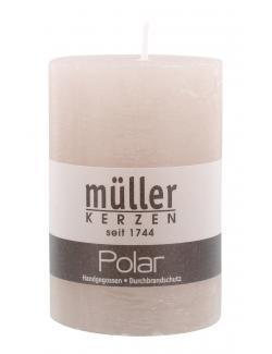 Müller-Kerzen Polar Stumpenkerze erde  (1 St.) - 4009078313049