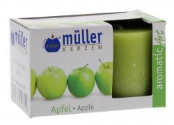 M�ller-Kerzen Duft-Votivlicht aromaticArt Apfel  (2 St.) - 4009078249812