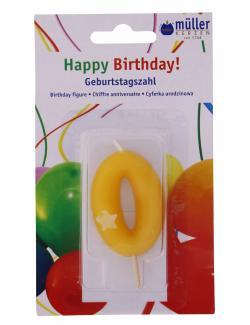 M�ller-Kerzen Geburtstagszahl  (1 St.) - 4009078323550