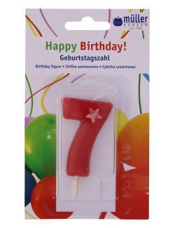 M�ller-Kerzen Geburtstagszahl  (1 St.) - 4009078323703