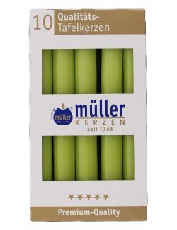 M�ller-Kerzen Tafelkerze maigr�n  (1 St.) - 4009078317214