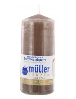 Müller-Kerzen Stumpenkerzen kaschmir  (1 St.) - 4009078503327