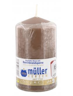 Müller-Kerzen Stumpenkerze kaschmir  (1 St.) - 4009078503266