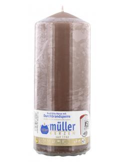 M�ller-Kerzen Stumpenkerzen kaschmir  (1 St.) - 4009078503167