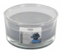 Müller-Kerzen 3-Docht Duft-Kerzenglas aromaticArt Moments  (1 St.) - 4009078506250