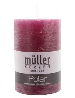 M�ller-Kerzen Polar Stumpenkerze beere  (1 St.) - 4009078501859