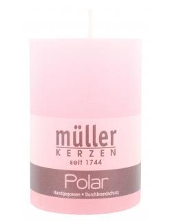 Müller-Kerzen Polar Stumpenkerze malve  (1 St.) - 4009078501880