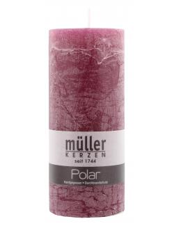 M�ller-Kerzen Polar Stumpenkerze beere  (1 St.) - 4009078501613