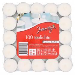 Jeden Tag Teelichte  (100 St.) - 4306188342281